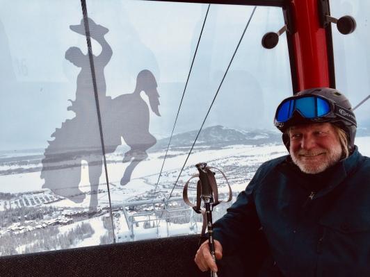 Bob in gondola