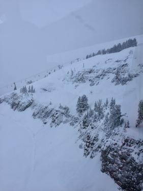 Jackson Hole terrain off Rendezvous Bowl