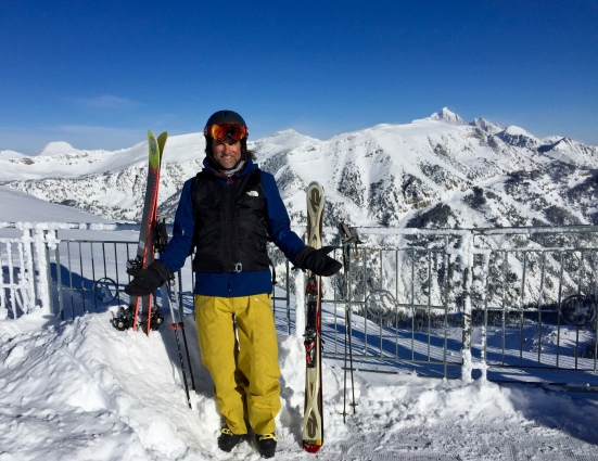 Foget'about it, atop Rendezvous Bowl Jackson Hole WY