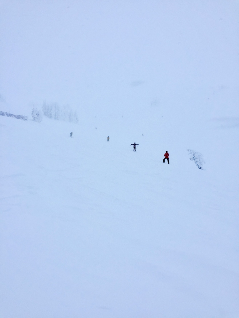 My only pic of the mountain at Grand Targhee.