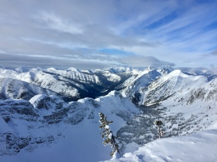 The view from Fernie