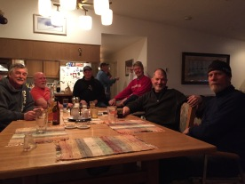Hanging at BR condo in Dillon...great meals by Rich and Chuck!